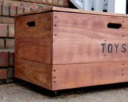 Making Wood Toy Boxes by Kids U0027 Furniture Etsy