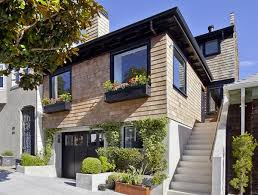 Modern Glamour Home Design Open House Obsession Noe Valley Shingled Cottage With A Heart Of