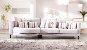 Hollie  Seater Sofa With Curved Chaise Darlings Of Chelsea - Sofa bed modular lounge 2