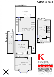 Brixton Academy Floor Plan by Corrance Road Brixton Sw2 3 Bed Conversion Flat For Sale