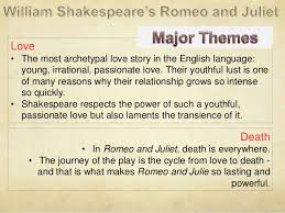 themes of youth in romeo and juliet romeo and juliet