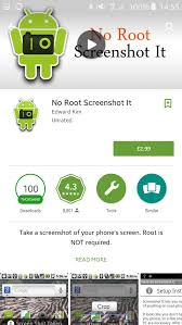 take a screenshot on android record screen on