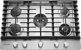 30 Stainless Steel Gas Cooktop Kitchenaid 30