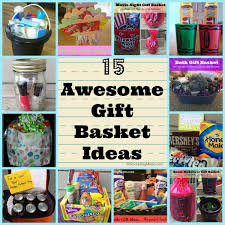 gift basket ideas 15 awesome gift basket ideas