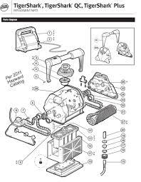 tigershark pool cleaner parts u2013 pool cleaner parts