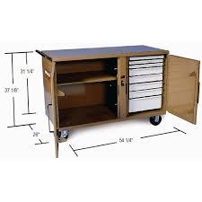 knaack storagemaster hd rolling work bench 59