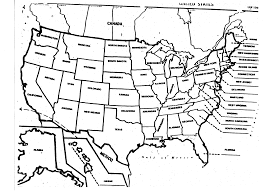 Writing Maps Blank Us Map Quiz Printable At Fill In The Of United States Us