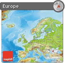 map of europe free free physical map of europe