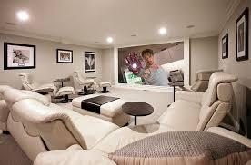 unique basement home theater design ideas with additional interior