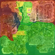 San Andreas Map Imagen Maps Gta San Andreas Map 1024x1024 Hd Wallpaper Png