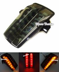 gsx s1000 tail light tail brake turn signals integrated led light smoke for 2003 2012