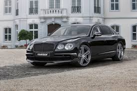 bentley flying spur 2015 startech debuts two bentley projects in frankfurt starting with
