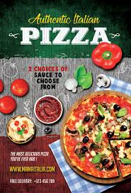 pizza restaurant flyer template flyer for italian pizza restaurants