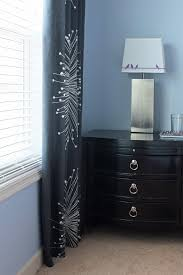 master bedroom curtain panels