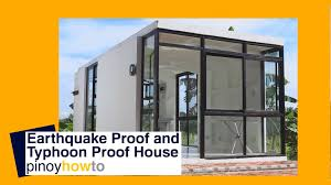 How To Build An Affordable Home by How To Build An Earthquake Proof And Typhoon Proof House