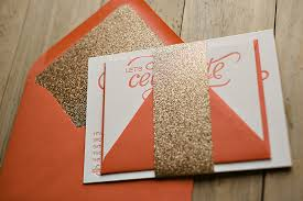 coral and gold wedding invitations coral and gold wedding