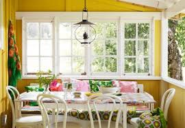 cheerful summer interiors 50 green a swedish summer cottage with a colorful interior