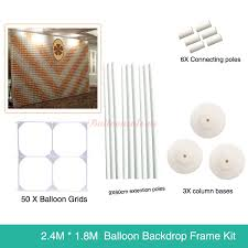 wedding backdrop kits sale cheap large balloon wall grids frame kit for sale partyone co uk