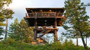 Judith Mountain Cabin by Fire Tower House Plans Escortsea