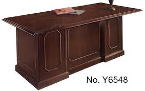 Excutive Desk Mahogany Executive Desk Collection