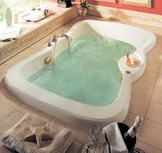 Bathtub Decorations Bathtubs Idea Interesting Two Person Jacuzzi Bathtub Two Person