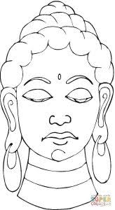 Awesome Buddhism Coloring Pages Countries Culture Sculptures Buddhist Coloring Pages