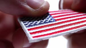 Flag Badges Embroidered Tiny Embroidered American Flag Patch Youtube