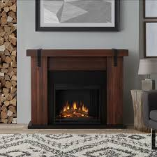 Indoor Electric Fireplace Real Aspen Indoor Electric Fireplace Target
