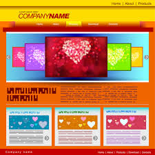 adobe illustrator website template free vector download 218 417