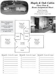 maple cabin jumonville maple floor plan