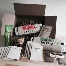indoor gardening new hobby box