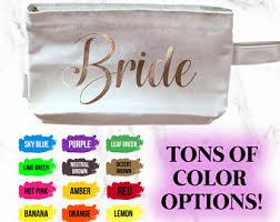 bridal makeup bags makeup bag etsy