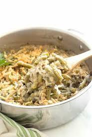 vegan green bean casserole happy food healthy