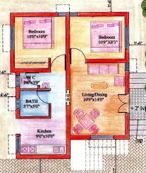 2bhk house plans floor plan for 2bhk house gharexpert