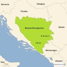 Bosnia Map Bosnia U0026 Herzegovina Vacations With Airfare Trip To Bosnia