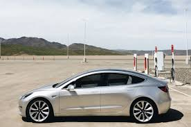 exclusive tesla model 3 photo shoot at the gigafactory motor trend