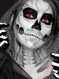 skull halloween skull painting clickmyworld flickr
