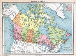 Northern Canada Map Large Detailed Old Political And Administrative Map Of Canada
