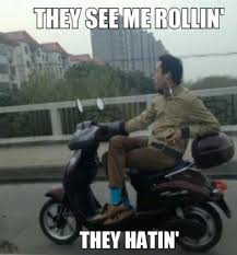 They See Me Rollin Meme - see me rollin and hatin