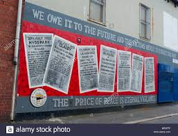 war mural belfast stock photos war mural belfast stock images east belfast mural to victims of the troubles derwent street stock image