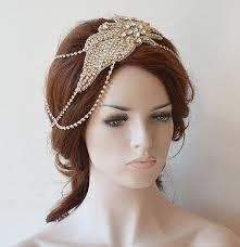 headpiece jewelry wedding hair accessory bridal chain wedding headpiece