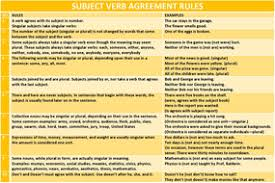 subject verb agreement 10 rules by john421969 teaching