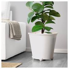 ikea ps fejö self watering plant pot white ikea
