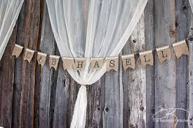 wedding backdrop burlap rustic wedding ideas that are diy affordable the bewitchin