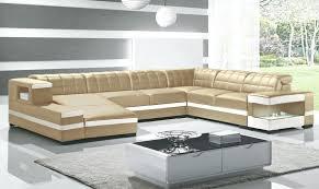 canapé d angle cuir beige canape canape cuir 10 places canapac dangle design panoramique