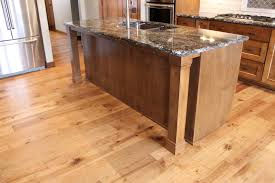 hickory wood cherry madison door kitchen island with legs