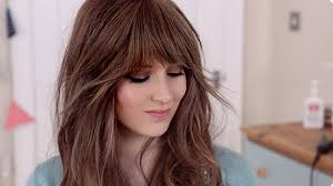 clip in fringe my hairstyle clip in bangs zooey deschanel look