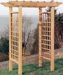 how to build a trellis archway wood desk how to build a garden arch arbor