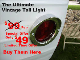 trailer tail lights for sale vintage travel trailers for sale and restoration repair service the