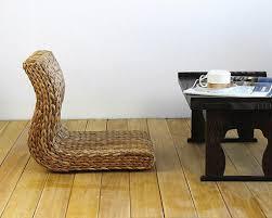 handmade wicker wooden zaisu chair popular japanese zaisu chairs